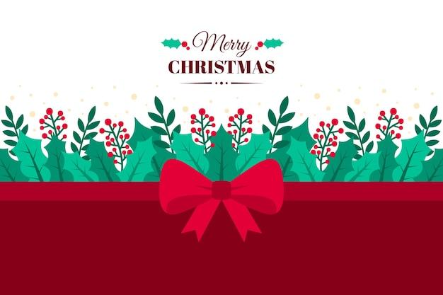 Weihnachtsband-hintergrundkonzept
