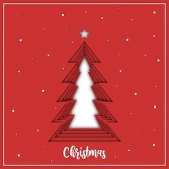 Weihnachtsbaum 3 dimensional