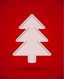 Weihnachtsbaum ausschneiden