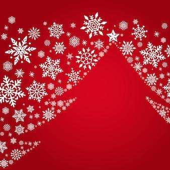 Weihnachtsbaum-feiertagsdesign-hintergrundvektor