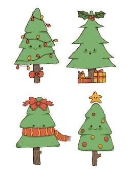 Weihnachtsbaum gesetzt