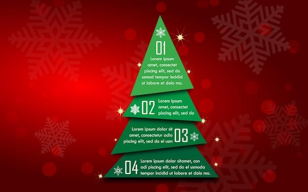 Weihnachtsbaum infografiken