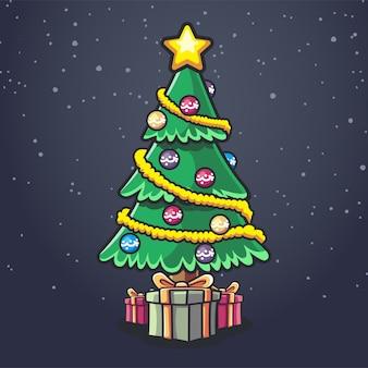 Weihnachtsbaum kiefer