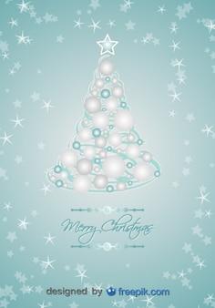 Weihnachtsbaum mit weihnachtskugeln getan