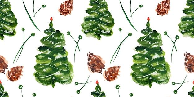 Weihnachtsbaum nahtloses muster