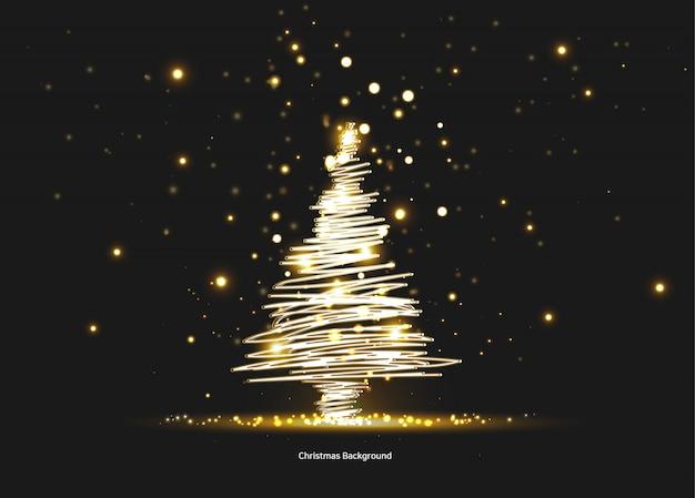 Weihnachtsbaum postkarte birne