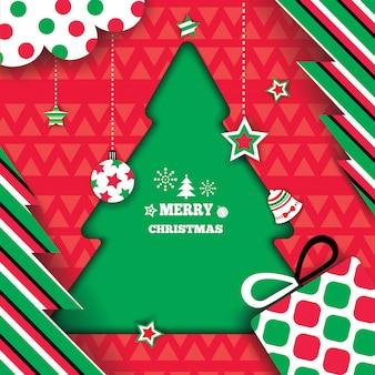Weihnachtsbaum-rahmen