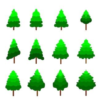 Weihnachtsbaum-sammlung