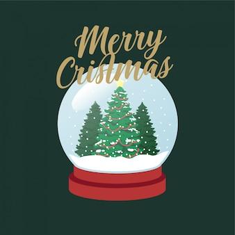 Weihnachtsbaum schneeball weihnachten