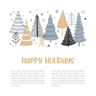 Weihnachtsbaum set web banner