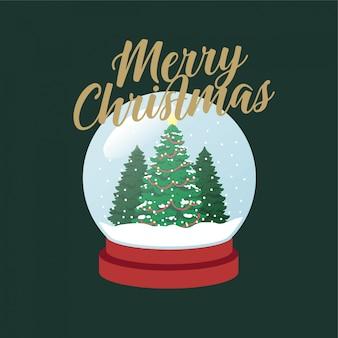 Weihnachtsbaum snowglobe weihnachten