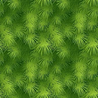 Weihnachtsbaum tannenzweig nahtlose hintergrund. vektor-illustration eps 10
