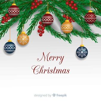 Weihnachtsbaum verzweigt sich hintergrund