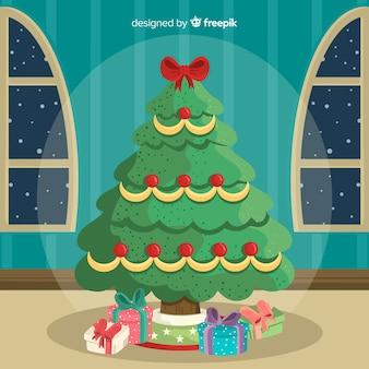 Weihnachtsbaum zu hause