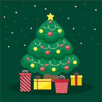 Weihnachtsbaumkonzept