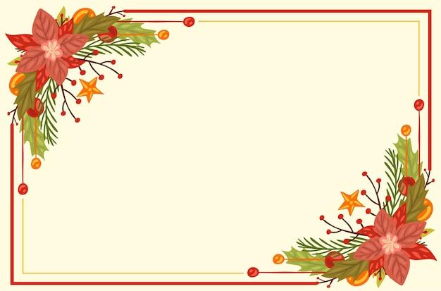 Weihnachtsbaumzweige hintergrund