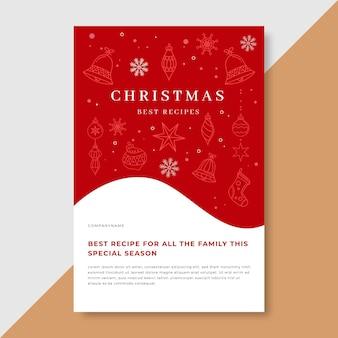 Weihnachtsblogpostvorlage