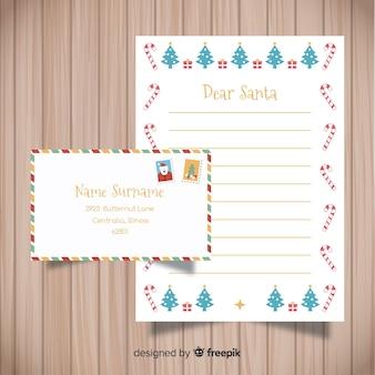 Weihnachtsbrief design
