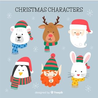 Weihnachtscharaktersammlung