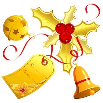 Weihnachtsdekor isoliert