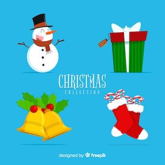 Weihnachtsdekoration elemente pack