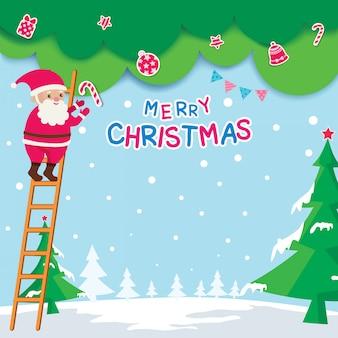 Weihnachtsdekoration-hintergrund
