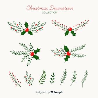 Weihnachtsdekoration-kollektion