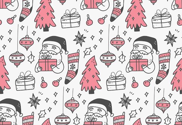 Weihnachtsdekoration muster