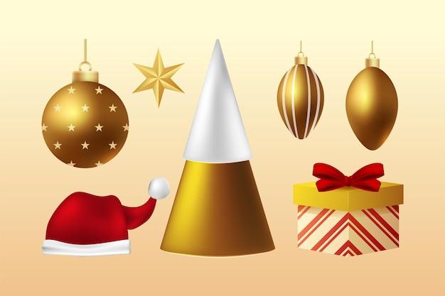Weihnachtsdekorationspaket