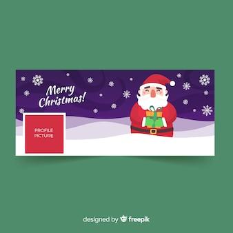 Weihnachtsdesign facebook-cover