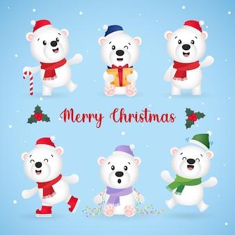 Weihnachtseisbär 01