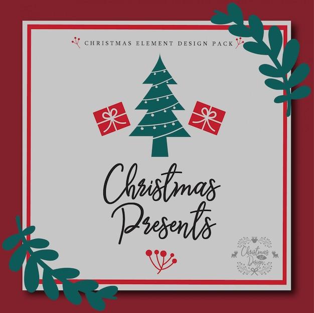 Weihnachtselement design