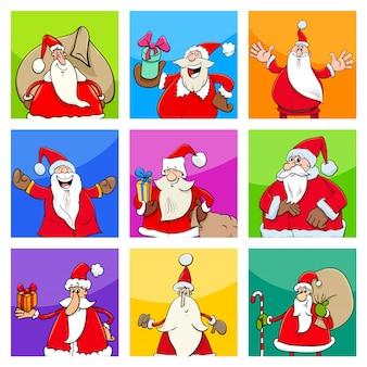 Weihnachtsentwurf mit weihnachtsmann
