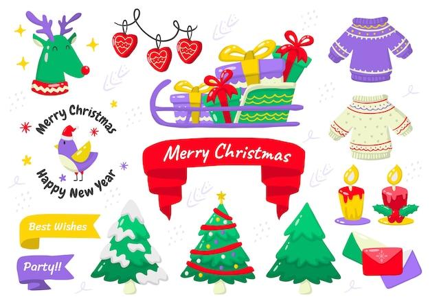 Weihnachtsetikett logo