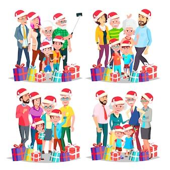 Weihnachtsfamilien-set