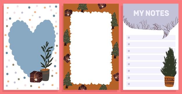 Weihnachtsfeier-design-sammlungssatzaufkleber