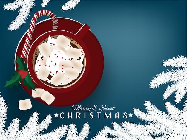 Weihnachtsferienzeithintergrund