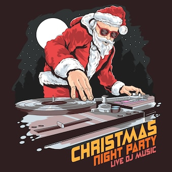 Weihnachtsfest Santa dj