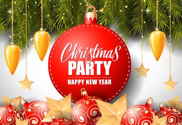 Weihnachtsfest-schriftzug am runden tag