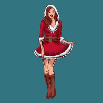Weihnachtsfrau charakter
