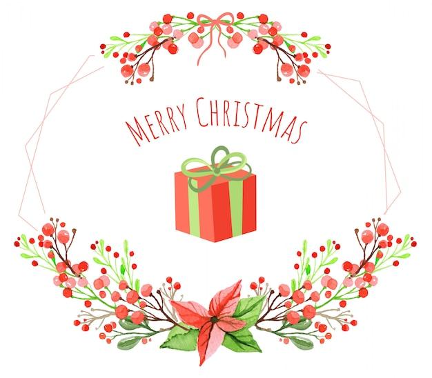 Weihnachtsgeschenk-hintergrund