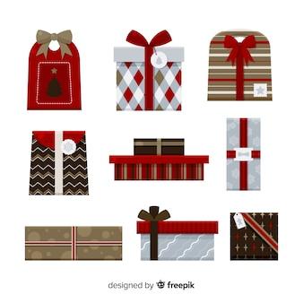 Weihnachtsgeschenk-kollektion