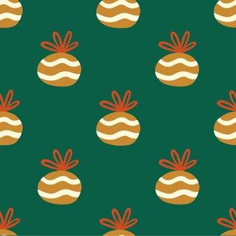 Weihnachtsgeschenk muster hintergrund social media post weihnachtsdekoration vektor illustration