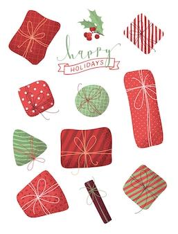 Weihnachtsgeschenke eingestellt