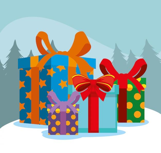 Weihnachtsgeschenke einstellen