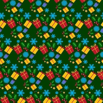 Weihnachtsgeschenke muster