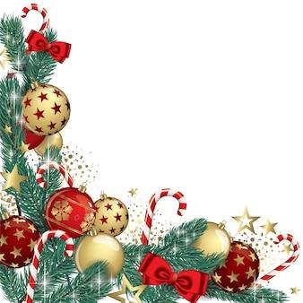 Weihnachtsgirlande hintergrund