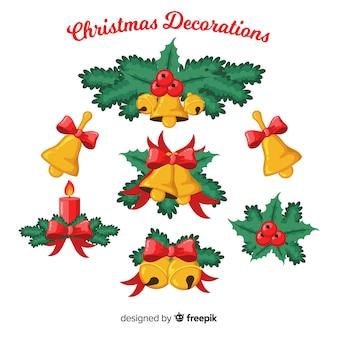 Weihnachtsglocken dekoration