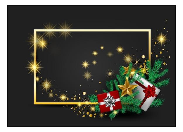 Weihnachtsgraue hintergrundkarte