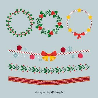 Weihnachtsgrenzen packen